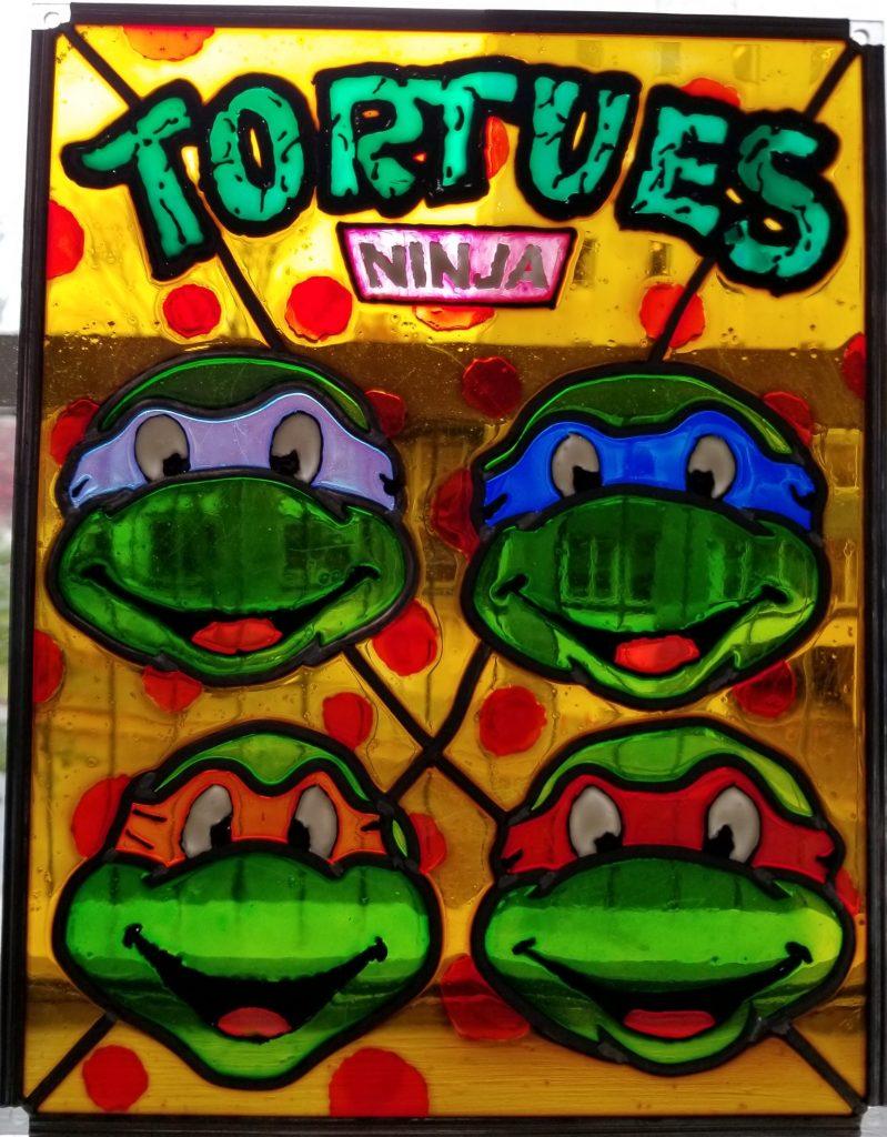 Tortues Ninja – Octobre 2020 - Peinture sur feuille d'acrylique
